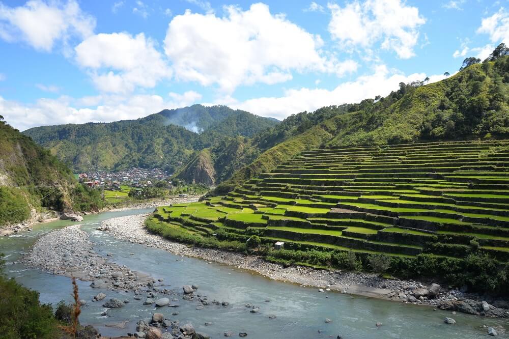 riceterrasses-sagada-tour in Nord Luzon