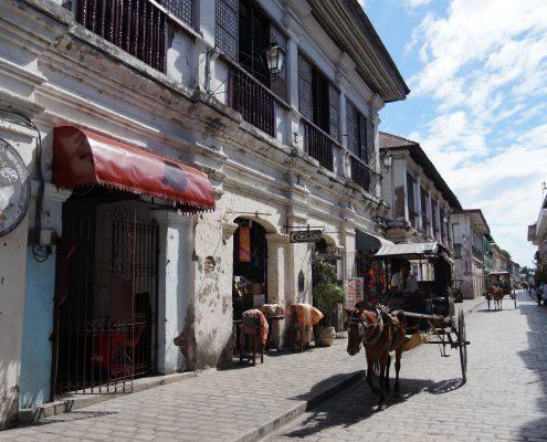 Welkulturerbe jetzt auch Weltwunder – Vigan in Nord-Luzon