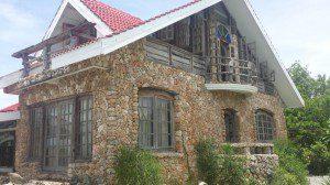 Das Haus der Steine auf den Philippinen