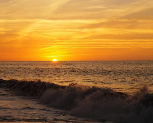 Sonnenuntergang in San Juan La Union