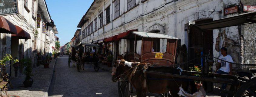 Spanische Kolonialstadt Vigan