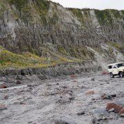 Jeep-Fahrt durch das Lahar-Feld