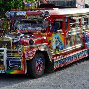 Jeepney auf den Philippinen