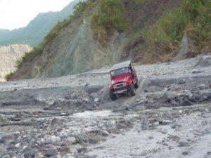Abenteuerfahrt Pinatubo Vulkan